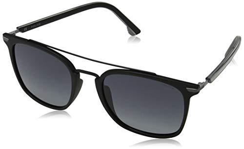 Police Drop 3 Gafas de sol, Negro (Shiny Black/Grey), 54.0 para Hombre