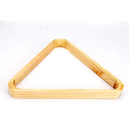 JRPT Triángulo de Billar Resistente y duradero,Triángulo para 15 bolas fácil de limpiar, material Abs/Wood#2