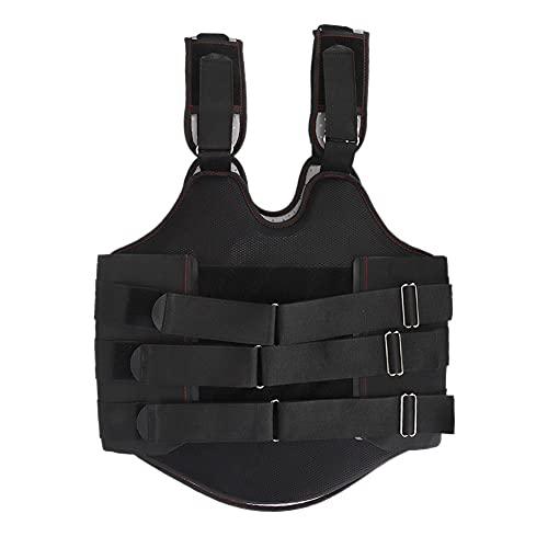 01 Soporte Lumbar, Comodidad y Facilidad de Uso Fijación de la Cintura Soporte para el Pecho Ortesis Efecto Protector en Lesiones lumbares por fracturas o Lesiones