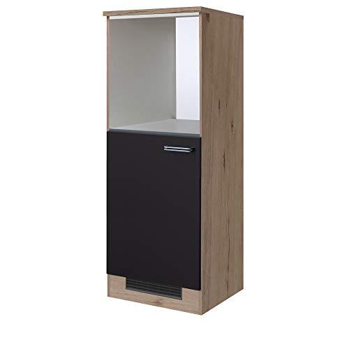 MMR Midi-Kühlschrank- und Herdumbauschrank LONDON - Breite 60 cm - Anthrazit