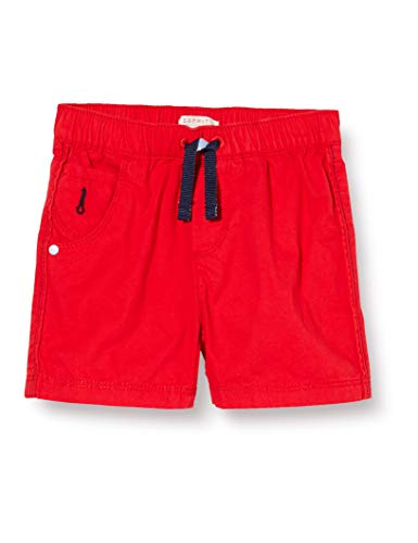 ESPRIT KIDS Baby-Jungen RQ2600202 Woven Shorts, Rot (Red 375), (Herstellergröße: 80)