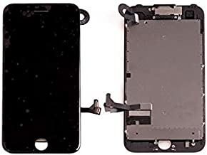 Compatible for iPhone 7 LCD   Screen Replacement (Black) Full Assembly Included with Front Camera (Light   Proximity)   Ear Speaker   Repair Tool.