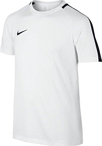 Nike Kinder Dry Academy Kurzarm-Shirt, White/Black, XS
