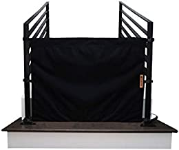 The Stair Barrier Baby and Pet Gate: No-Drill Portable Banister to Banister Baby Gates - Safety Gates for Kids or Dogs - Fabric Baby Gate for Stairs with Banisters, New 2019