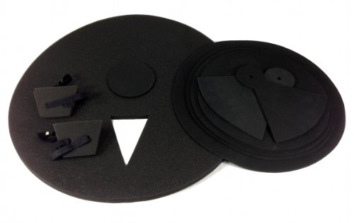 4. 9 Piece Drum Practice Pads