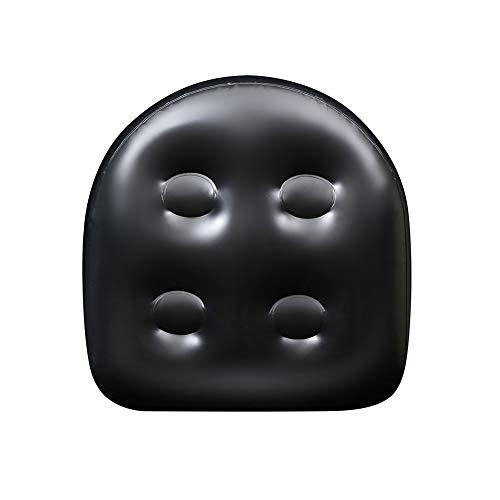 Universal-Spa- und Whirlpool-Sitzerhöhung mit Saugnäpfen, aufblasbar, wasserdicht, Badewannen-Massagematte, Rücken-Spa-Kissen, , aufblasbarer Sitzerhöhung für Erwachsene und Kinder (40 x 37 x 15 cm)