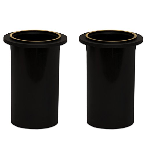 Goldwood PT-306/SG-2 Speaker Box Bass Air Ports 2 Speaker Port Tubes Black