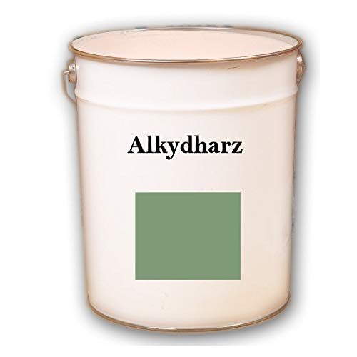 2,5 kg RAL 6021 Lindgrün grün Alkydharz matt Wandbeschichtung Wandfarbe Alkydharzfarbe