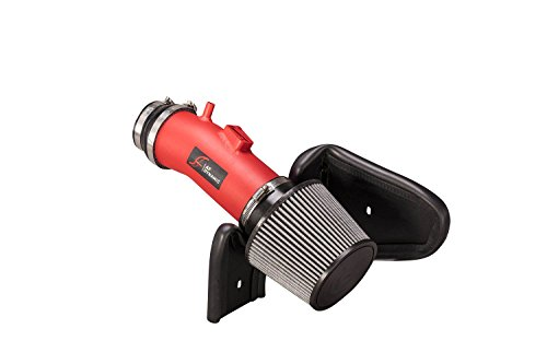AF Dynamic Red Air Filter Intake kit 3.5 Inch 2007-2014 Compatible For TL Types 3.5L 3.7L V6
