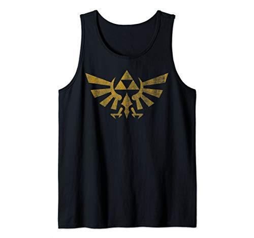 Legend Of Zelda Royal Crest Distressed Badge Tank Top