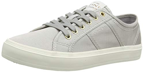 GANT Footwear Damen Pinestreet Sneaker, Grau (Silver Gray G801), 39 EU