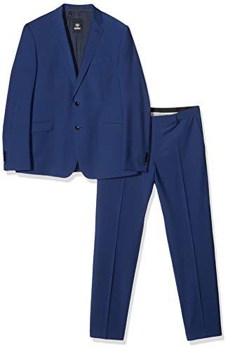 Strellson Premium Herren Allen- Allen-Mercer Anzug, Blau (Bright Blue 430), Herstellergröße: 24