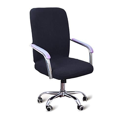 Stretch Wasserdichte Computerstuhl-Abdeckung, Bürostuhl-Abdeckung, Universal-Stuhl-Schutz für Bürostuhl Drehstuhl Armlehne Stuhl
