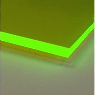 Fluoresent Green Acrylic .118 12