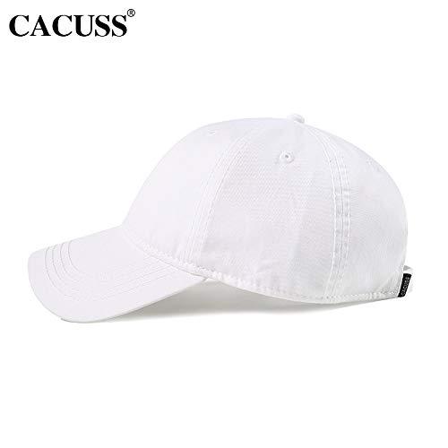 sdssup Baseballmütze Männer und Frauen Outdoor Hut Wandern Ente Zunge Sommer Männer Paar Hut Sommer Weiß Version L (58-60 cm)