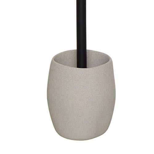 Vidal Regalos Escobillero WC Cemento 36 cm Blanco