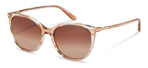 Rodenstock Sonnenbrille La Classica Sun R3322 (Damen), leichte Panto-Sonnenbrille, runde Sonnenbrille aus hochwertigem Acetat