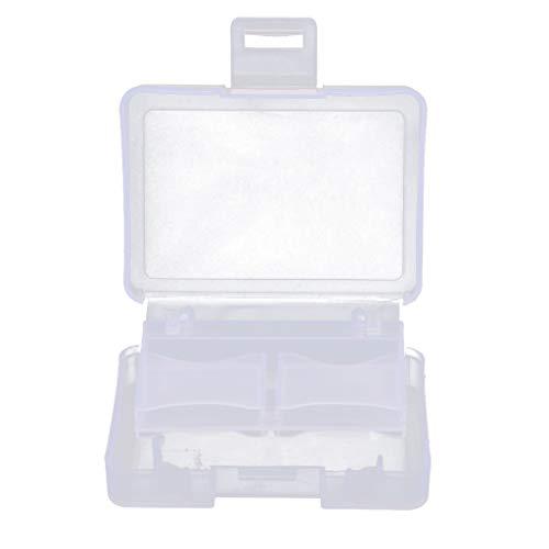 prasku Portátil 1CF 4SD Titular de La Tarjeta de Memoria Protector Caja de Almacenamiento Estuche Transparente de Plástico