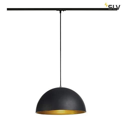 SLV FORCHINI M Leuchte Indoor-Lampe Stahl/Aluminium Schwarz Lampe innen, Innen-Lampe