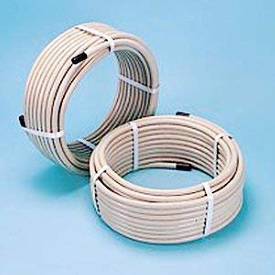 ロバクリップ蝶閉じ込める日立金属 ソフレックス 都市ガス用フレキ管 (FV2)K15×30S 15A*30m 1巻