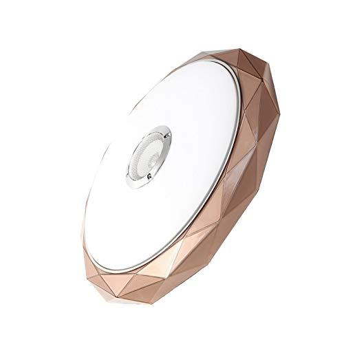 U/D Kroonluchters Luces de Techo LED Altavoz de la música a Distancia Smart Control de Techo Dormitorio de la lámpara Iluminación for el hogar de Montaje en Superficie Fixture 36W