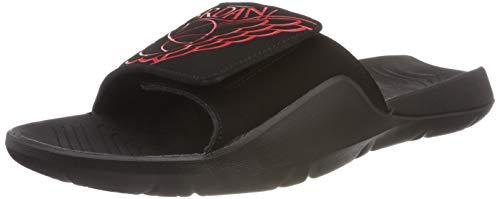 Jordan Hydro 7, Zapatillas de Deporte para Hombre, Multicolor (Black/University Red/Black/Black 062), 46 EU