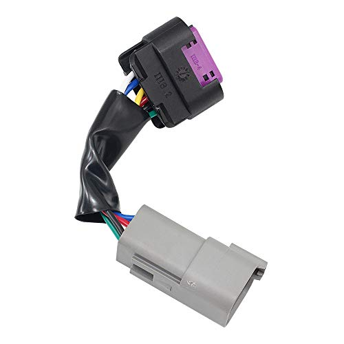 53031575 Throttle Pedal Position Sensor with Wiring Pigtail Connector for 2500 Diesel 5.9L Cummins Engine 53031575AH 3970084 AP63428 30GEGT786MA3