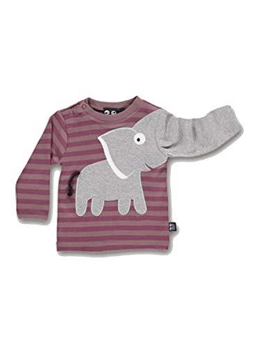 UBANG Shirt Longsleeve Baby Elefant Woodrose Gr. 68