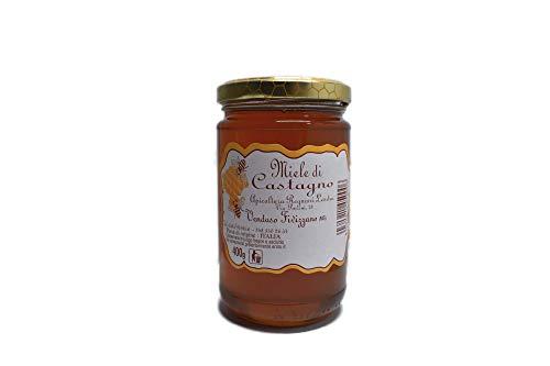 Miele di Castagno Apicoltura Regnani Lendra Miele Italiano (400)