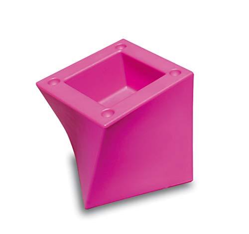 drydesign Cubo Pot à glace empilable 45 x 45 x 38,5 cm (fuchsia)