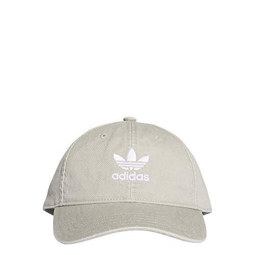 adidas Kinder Adicolor Washed Baseball-Cap, Solid Grey/White, FR Unique (Taille Fabricant : OSFY)