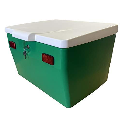 CAJÓN PORTAEQUIPAJES 120 litros Color Verde/Blanco
