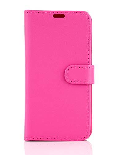 Phone doctorz Vodafone Smart Ultra 6 - Funda de piel tipo libro para teléfono móvil, color rosa