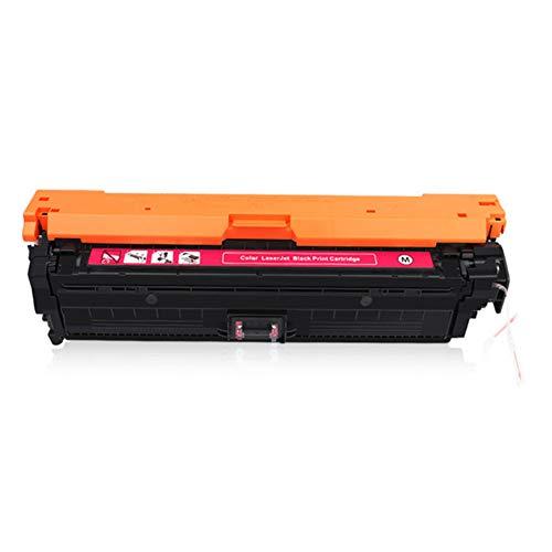 CE740A -CE743A tonercartridge, compatibele vervanging voor HP CP5225 5025 5220 (307A) serie printer, De cartridges waren eenvoudig te installeren size Rood