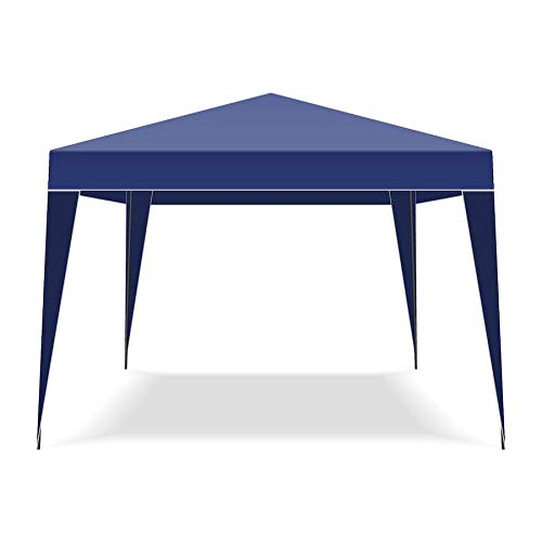 FRANKYSTAR Folding 3x3MT Automatic Garden Gazebo Tent with carry bag color Blue