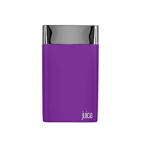 Juice Long Weekender Smart Portable Power Bank, iPhone, Samsung, Huawei, iPad, 10050mAh, Purple