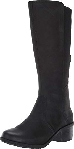 Teva Damen Anaya Hohe Wasserdichte Stiefel, Schwarz (schwarz), 37 EU