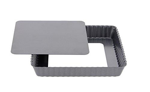 DE BUYER -4709.18 -tarte carree fond demontable 18cm