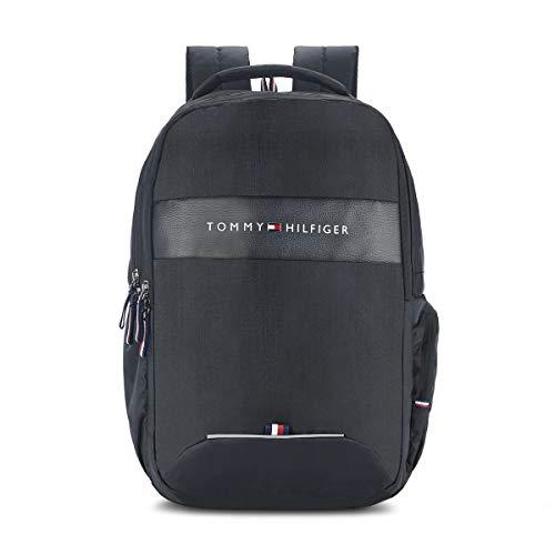 Tommy Hilfiger Joshua 21 Ltrs Black Laptop Backpack (TH/JOSHUALAP01)