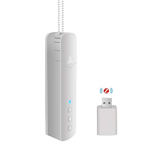 BENEXMART Controlador de persianas enrollables actualizado Tuya WiFi + Control de RF DIY Motor de persiana Enrollable Alexa Asistente de Google Control de Voz (Tuya Zigbee + RF)