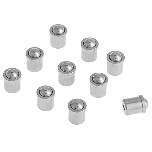 Hazmemejor Spring Plunger - 10pcs 304 Stainless Steel Push Fit Ball Spring Plunger 5mm6mm Body