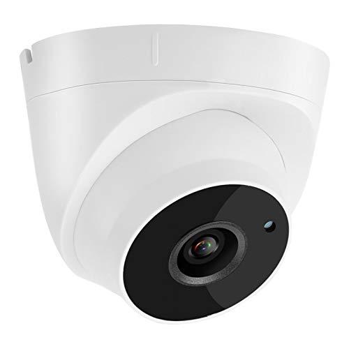 FOLOSAFENAR 2592 * 1944P Cámara de Seguridad para el hogar Cámara de vigilancia de Domo HD con teléfono Push para Seguridad de oficinas(European regulations)