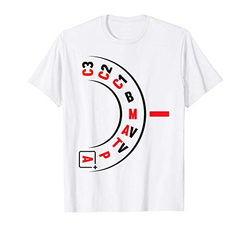 Divertido Fotógrafo Lente de Cámara Fotográfica Regalo de Camiseta