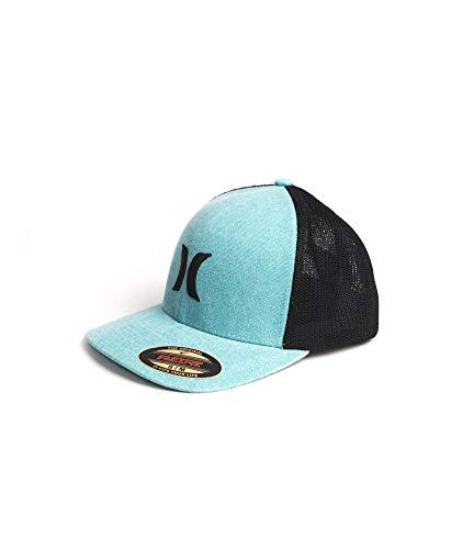 Hurley M Icon Textures Hat Gorra, Hombre, Bleached Aqua, S/M