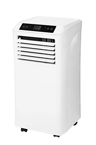 Homex mobiles Klimagerät A-32-100-W - 9.000 BTU / 2,6 KW - Klimaanlage & Luftentfeuchter inkl. Fernbedienung