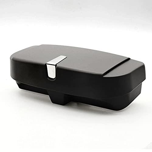 WBMKH Accesorios para el Coche Estuche para Gafas Caja de Almacenamiento para Gafas de Sol Soporte para Gafas Interiores para automóvil Visera para el Sol Automóviles 55 mm de Espesor