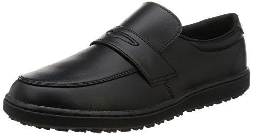 [ミドリ安全] 作業靴 耐滑 ローファータイプ ハイグリップ H230 D ブラック 22.0(22cm)