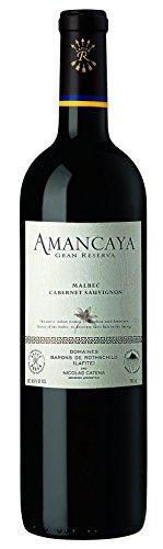6x 0,75l - 2015er - Bodegas Caro - Amancaya - Malbec & Cabernet Sauvignon - Mendoza - Argentinien - Rotwein trocken