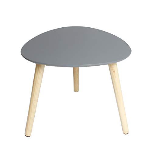 Feenice Coffee Tisch Satztische Beistelltisch skandinavische Couchtisch rund Wohnzimmertisch skandinavisch Kaffetisch klein Satztisch(40x40x40cm)