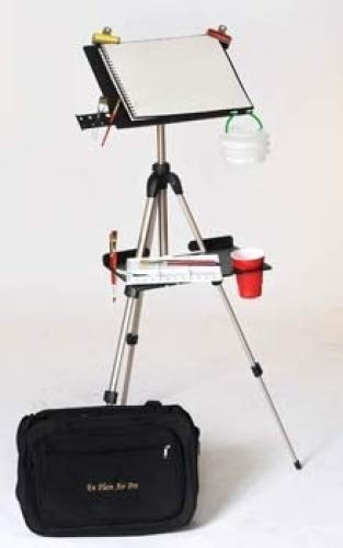 The En Plein Air Pro Traveler Series for Watercolor with Slik U874 Tripod
